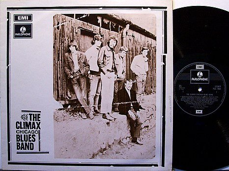 Climax Chicago Blues Band, The - Self Titled - UK Pressing - Vinyl LP Record - Rock