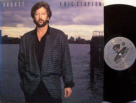 Clapton, Eric - August - Vinyl LP Record - Rock