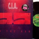 C.I.A. - In The Red - Vinyl LP Record - CIA / Nuclear Assault / Glen Evans - Rock