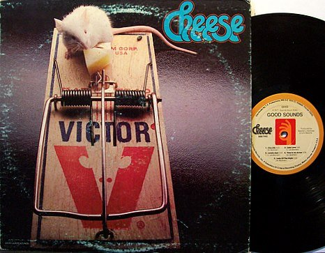 Cheese - Self Titled - Vinyl LP Record - Rock