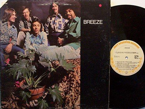 Breeze - Self Titled - Vinyl LP Record - Rock
