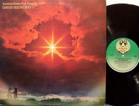 Bedford, David - Instructions For Angels - UK Pressing - Vinyl LP Record - Rock