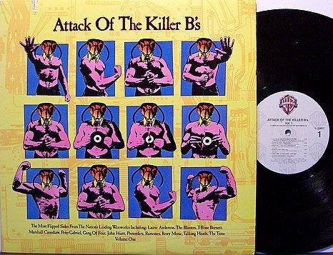Attack Of The Killer B's - Vinyl LP Record - Bees - Various Artists - Ramones / Pretenders - Rock