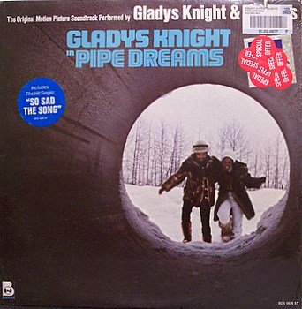 Pipe Dreams - Soundtrack - Sealed Vinyl LP Record - Gladys Knight - OST