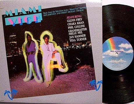 Miami Vice - TV Soundtrack - Vinyl LP Record - Tina Turner / Chaka Khan etc - OST