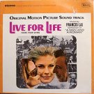 Live For Life - Soundtrack - Sealed Vinyl LP Record - Francis Lai - OST