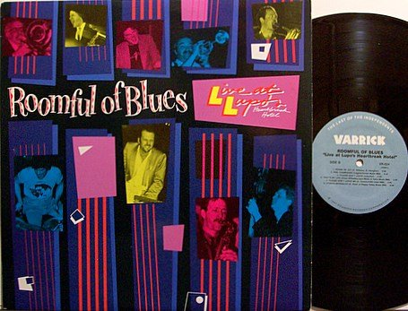 Roomful Of Blues - Live At Lupo's Heartbreak Hotel - Vinyl LP Record - Blues