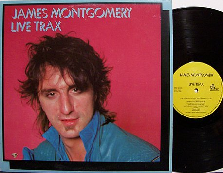 Montgomery, James - Live Trax - Vinyl LP Record - Uptown Horns - Blues