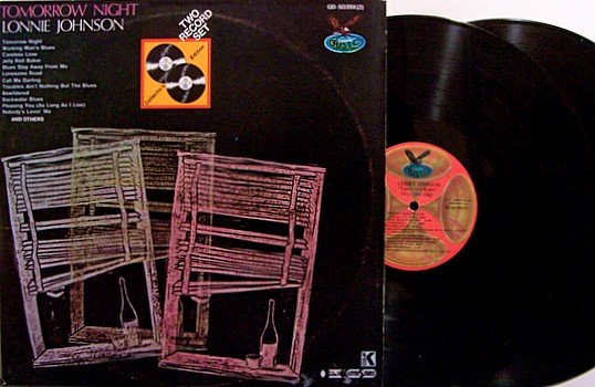 Johnson, Lonnie - Tomorrow Night - Vinyl 2 LP Record Set - Blues