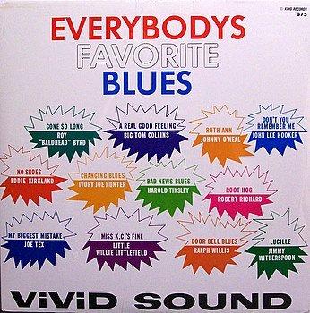 Everybodys Favorite Blues - Various Artists - Sealed Vinyl LP Record