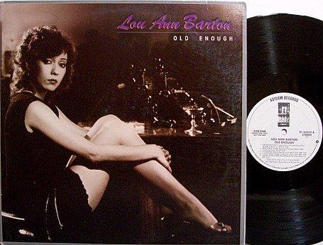 Barton, Lou Ann - Old Enough - Vinyl LP Record - White Label Promo - Blues