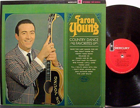 Young, Faron - Country Dance Favorites - Vinyl LP Record - Country