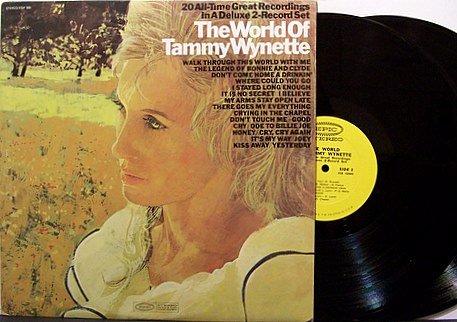Wynette, Tammy - The World Of Tammy Wynette - Vinyl 2 LP Record Set - Promo - Country