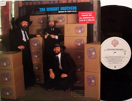 Wright Brothers, The - Made In The U.S.A. - Vinyl LP Record - USA Promo - Country