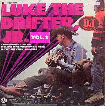 Williams, Hank Jr. - Luke The Drifter Volume 2 - Sealed Vinyl LP Record - Promo - Country
