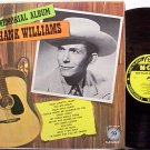 Williams, Hank - Hank Williams Memorial Album - Vinyl LP Record - Mono - Country