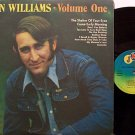 Williams, Don - Volume One - Vinyl LP Record - Promo - Original JMI Label - Country