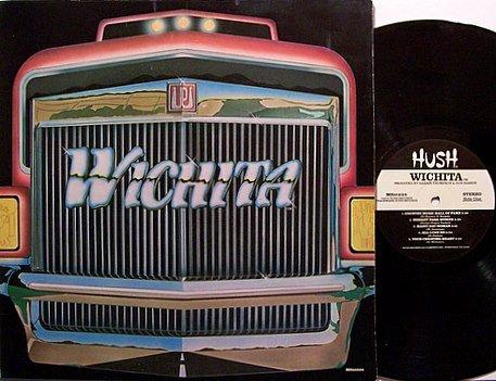 Wichita - Self Titled - Vinyl LP Record - Private Label - California Country