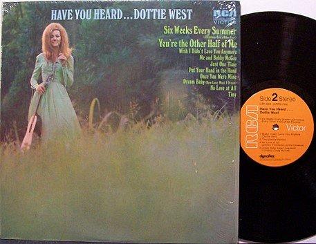 West, Dottie - Have You Heard Dottie West - Vinyl LP Record - Country