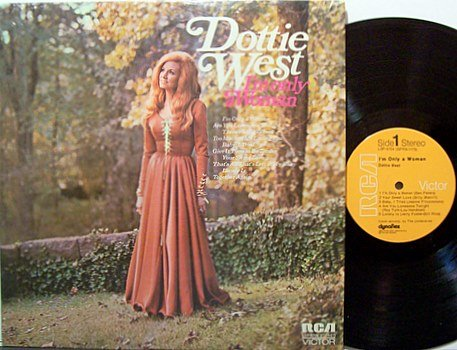 West, Dottie - I'm Only A Woman - Vinyl LP Record - Country