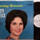 Wells, Kitty - Burning Memories - Vinyl LP Record - White Label Promo - Country