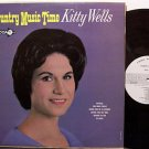 Wells, Kitty - Country Music Time - Vinyl LP Record - White Label Promo - Mono