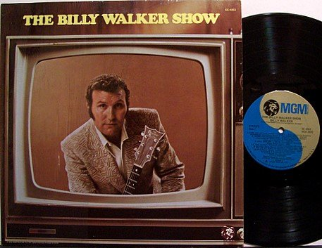 Walker, Billy - The Billy Walker Show - Vinyl LP Record - Country