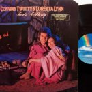 Twitty, Conway & Loretta Lynn - Two's A Party - Vinyl LP Record - Promo - Country