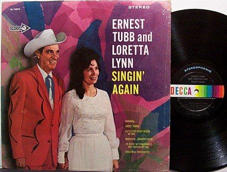 Tubb, Ernest And Loretta Lynn - Singin' Again - Vinyl LP Record - Country