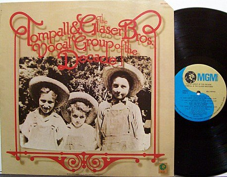 Tompal & The Glaser Brothers - Vocal Group Of The Decade - Vinyl LP Record - Country