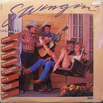 Swingin' - Sealed Vinyl LP Record - Country Instrumental Hit Songs
