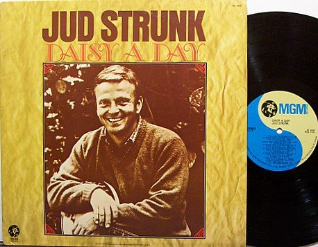 Strunk, Jud - Daisy A Day - Vinyl LP Record - Country