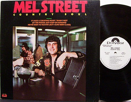 Street, Mel - Country Boy - Vinyl LP Record - White Label Promo - Country