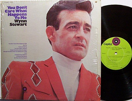 Stewart, Wynn - You Don't Care What Happens To Me - Vinyl LP Record - Country