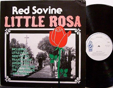 Sovine, Red - Little Rosa - Irish Pressing - Vinyl LP Record - Country