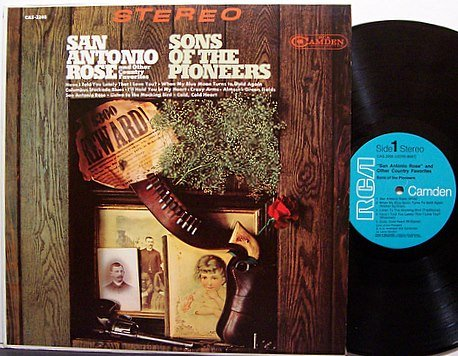 Sons Of The Pioneers - San Antonio Rose And Other Country Favorites - Vinyl LP Record