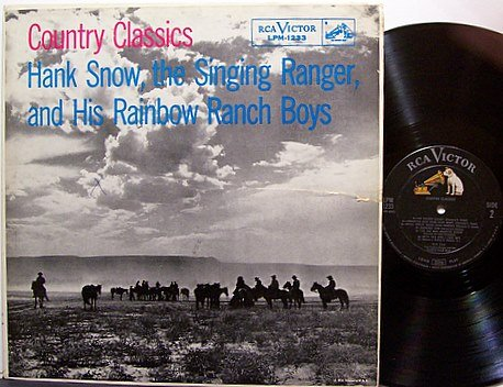 Snow, Hank - Country Classics - Vinyl LP Record - Country