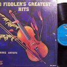 16 Fiddler's Greatest Hits - Various Artists - Vinyl LP Record - Bluegrass