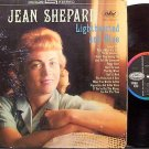 Shepard, Jean - Lighthearted And Blue - UK Pressing - Vinyl LP Record - Country