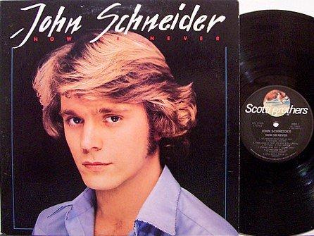 Schneider, John - Now Or Never - Vinyl LP Record - Promo - Dukes Of Hazzard - Country
