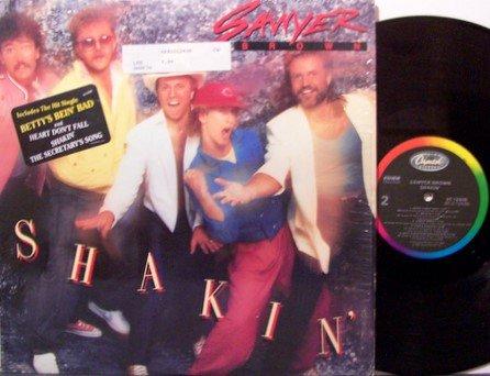 Sawyer Brown - Shakin' - Vinyl LP Record - Country