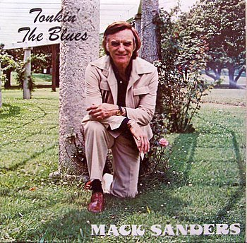 Sanders, Mack - Tonkin' The Blues - Sealed Vinyl LP Record - Country