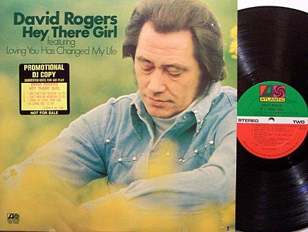 Rogers, David - Hey There Girl - Vinyl LP Record - Promo - Country
