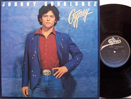 Rodriguez, Johnny - Gypsy - Vinyl LP Record - Promo - Country