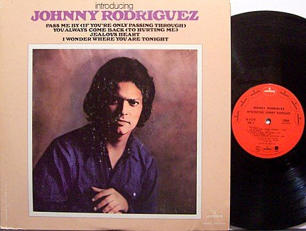 Rodriguez, Johnny - Introducing - Vinyl LP Record - Country