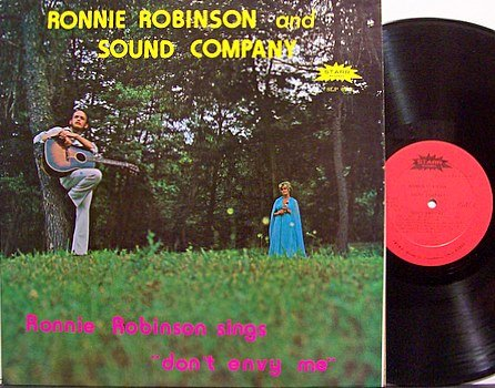 Robinson, Ronnie And Sound Company - Don't Envy Me - Vinyl LP Record + Inserts - Country