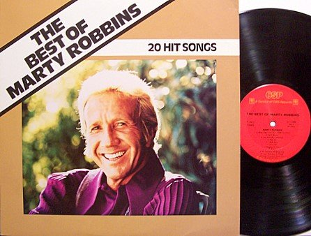 Robbins, Marty - The Best Of Marty Robbins 20 Hit Songs - Vinyl LP Record - Country