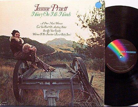 Pruett, Jeanne - Honey On His Hands - Vinyl LP Record - Country