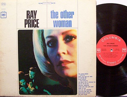 Price, Ray - The Other Woman - Vinyl LP Record - Country