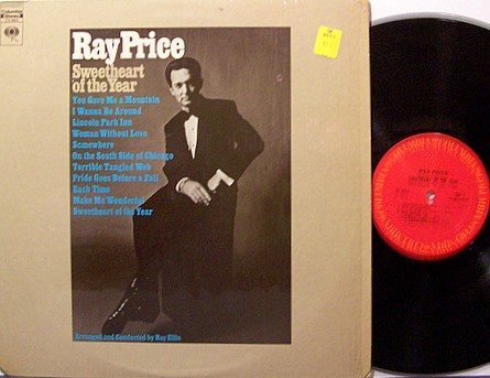 Price, Ray - Sweetheart Of The Year - Vinyl LP Record - Country